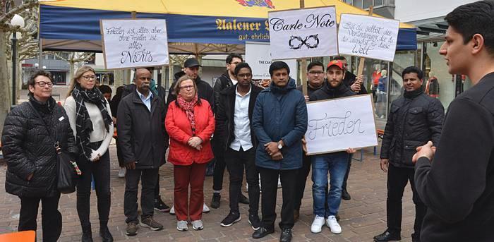 Carle Note´s Friedensimpulse – Aalen, Deutschland